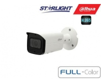 "IP kam.cilindr. 2MP FULL-COLOR STARLIGHT ,1/2.8"" 3.6mm.87° F1.0, 50fps, WDR, IVS, IP67, IK10, ePoE"